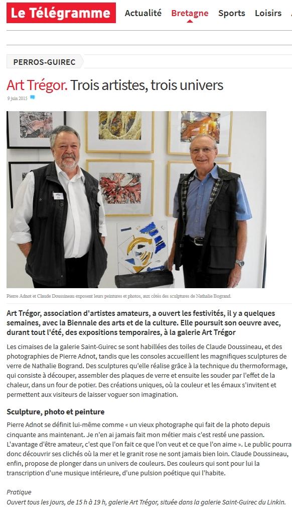 Presse les artistes du tr gor for Le divan 9 juin 2015