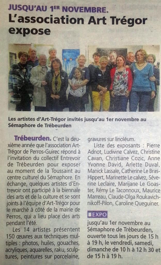 Le Trégor 29 10 2015