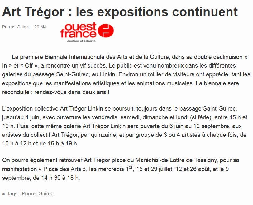 Ouest-France 20 mai 2015