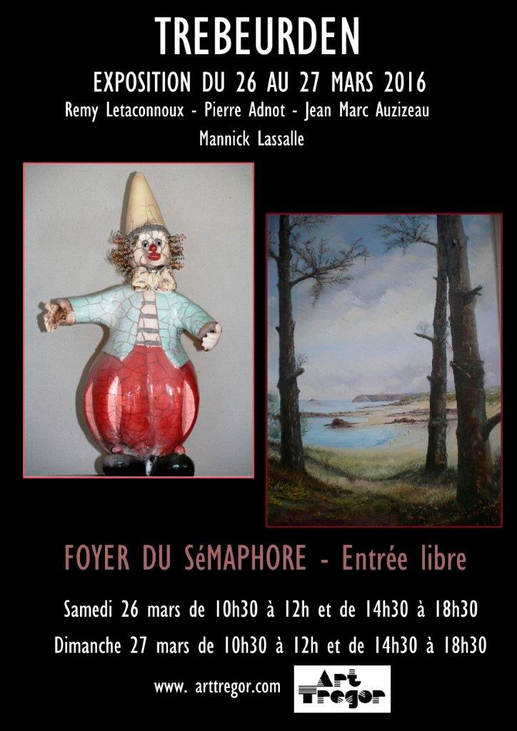 Exposition 2016 Trébeurden Art Trégor