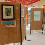 Exposition Art Trégor Ile grande Camping Abri Cotier