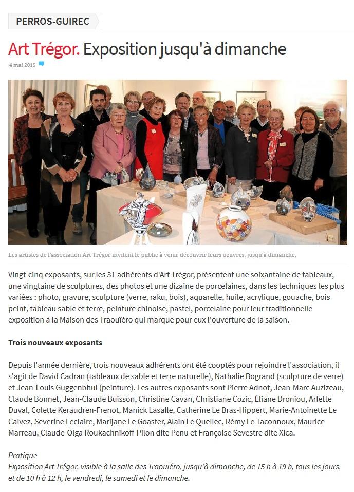 Le Télégramme 04 05 2015