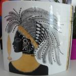 Vase ovale Guerrier Massaï