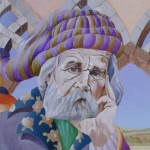 Autoportrait huile sur toile