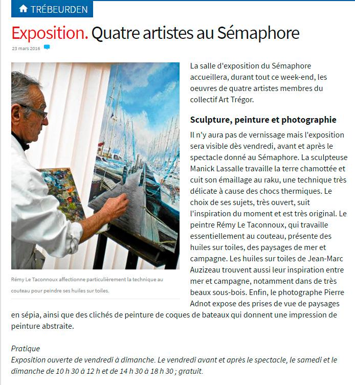 Exposition art-Tregor-2016
