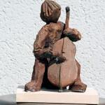 Musicien - Patines - Manick Lassalle - sculpteur céramiste