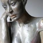 La rêveuse d'Ostende - Sculpture - Anne-Yvonne DAVID