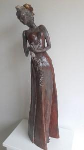 Soir d'été - Sculpture - Anne-Yvonne DAVID