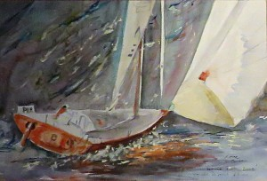 Vendée Globe - Christine Cavan -