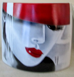 Peinture sur porcelaine - Art Trégor