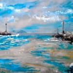 Chenal Ploumanac'h - Christine Cavan - Art Trégor