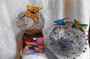 Fils magiques papillons - Art Trégor