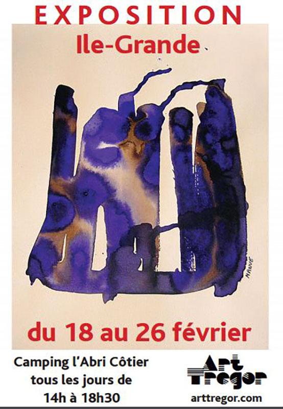 Exposition Ile-Grande 2017 Camping l'Abri Côtier