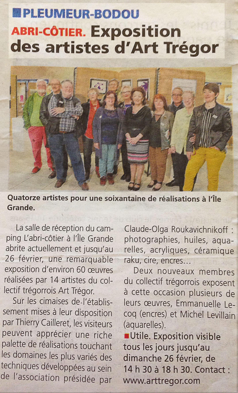 Exposition Ile Grande Art tregor 2017