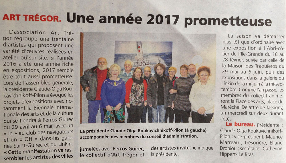 Art trégor 2017