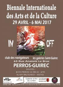 Affiche Biennale 2017 Art Trégor