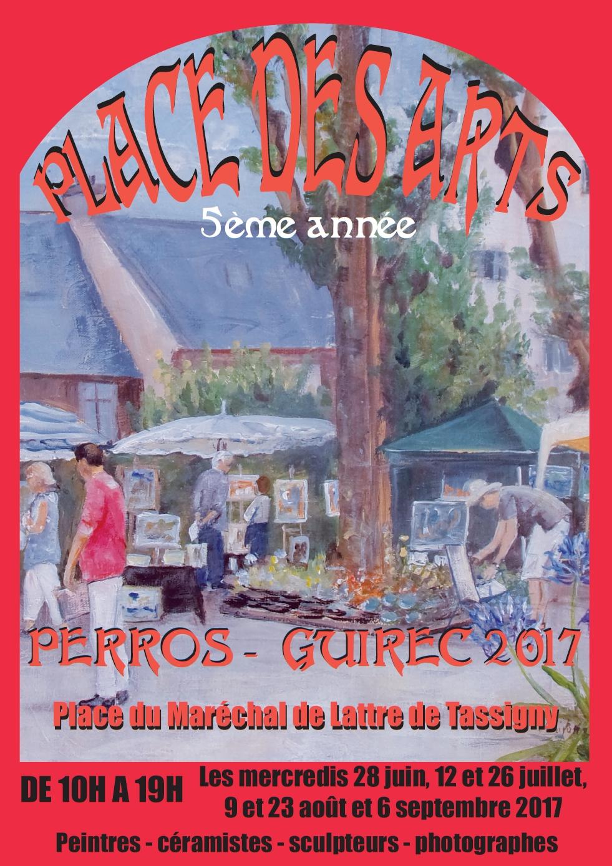 Place des Arts Perros 2017