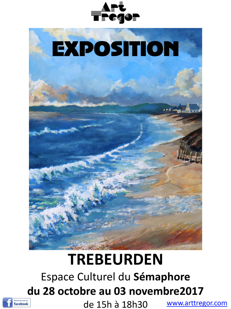 Art trégor exposition Trébeurden 2017