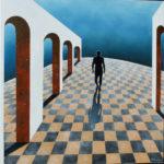 Point de fuite - Huile - JF HAMOURY