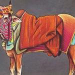 Vache Sacrée-Pastel sec-Sabrina Blanleuil