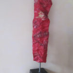Fourreau - Sculpture en terre cuite