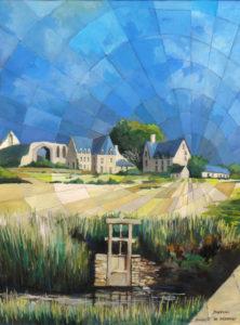 Abbaye de Beauport - Gouache
