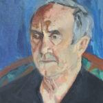 Portrait de Jean-Claude - Huile sur toile - 46x38 cm de Chéker