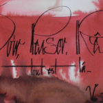Savoir aimer - calligraphie, format 14x33 env