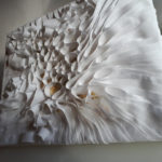 Ondulation : textile - format : 30,5 x 34 cm