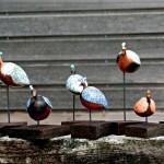 pintades - ceramiques-raku-Manick Lassalle