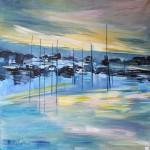 Port de Ploumanac'h - Acrylique