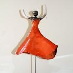 Danseuse 2 - ceramiques-raku-Manick Lassalle