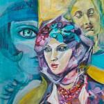 Femmes - Acrylique - Art Trégor
