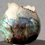 Vase rond - Manick Lassalle - sculpteur céramiste