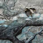 Hiver 2 - Peinture chinoise gongbi - Art Trégor