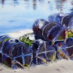 Casiers - Aquarelle - Art Trégor 2017