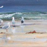 les goélands - Acrylique sur toile